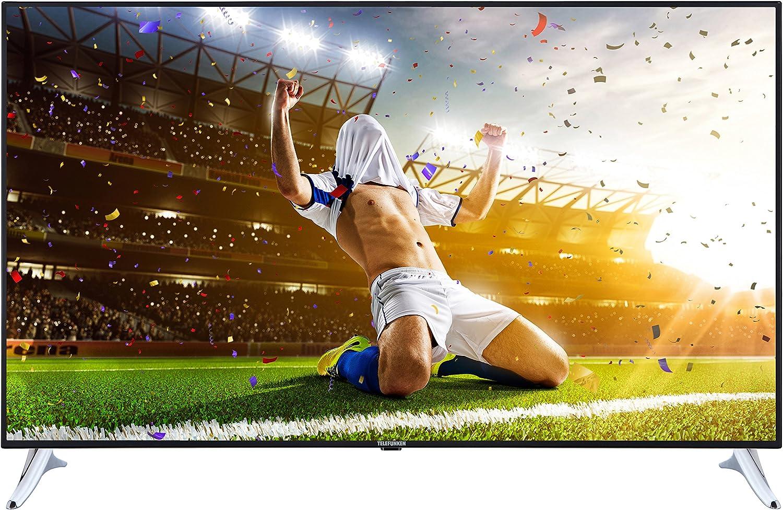 Televisor Telefunken XU40A401 102 cm (4K Ultra HD, sintonizador triple, Smart TV, Netflix): Amazon.es: Electrónica