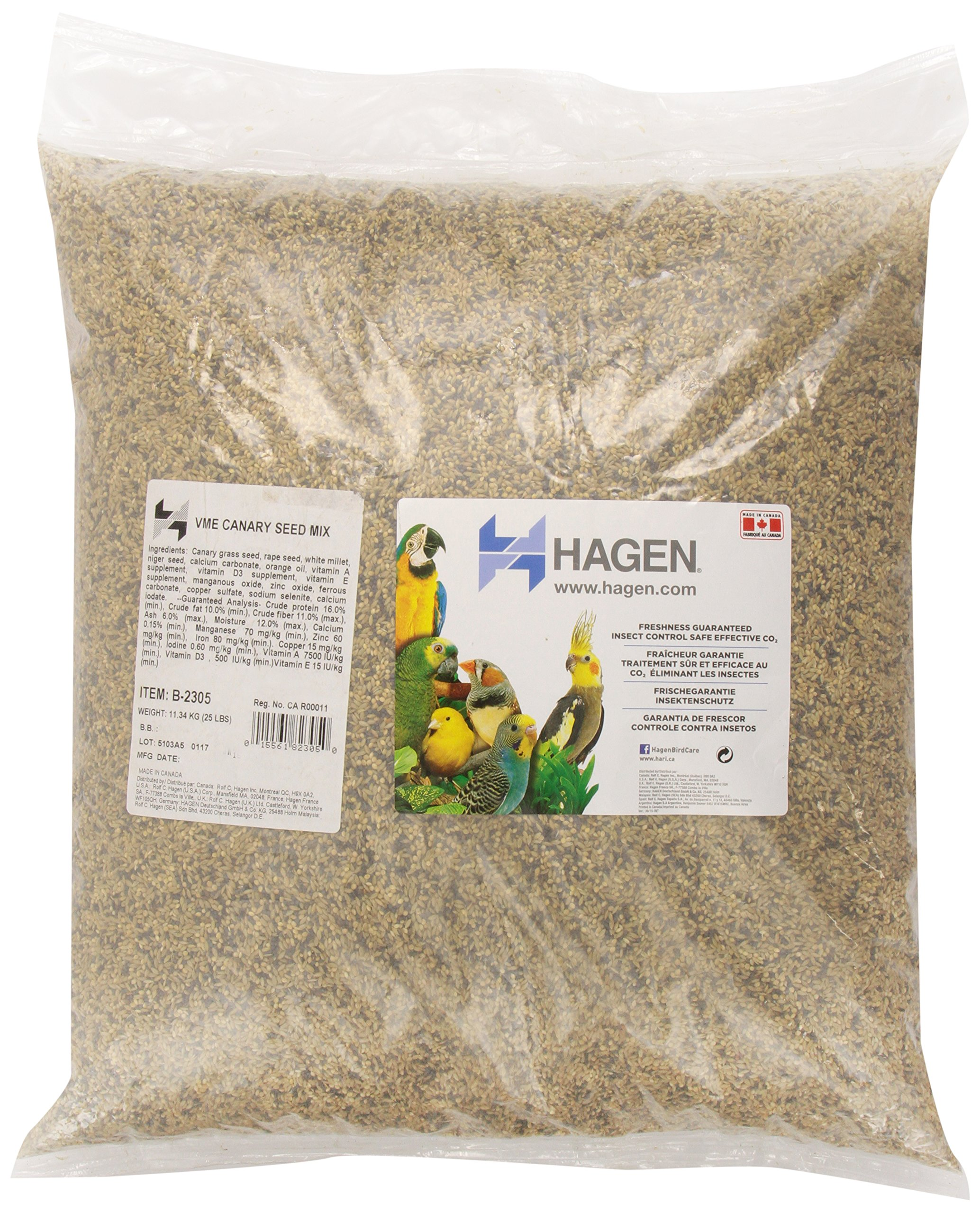 Canary Staple Vme Seed, 25-Pound