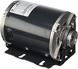 Marathon H684 48Y Frame Open Drip Proof 5KH36MNA445X Carbonator Pump Motor, 1/2 hp, 1800/1500 RPM, 100-120/200-240 VAC, 1 Split Phase, 2 Speeds, Ball Bearing, Rigid Base
