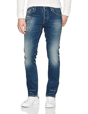 .com: nudie jeans men's grim tim nath replica: clothing