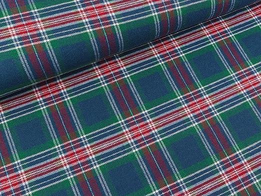 Quality Textiles - Franela de algodón, diseño a Cuadros, Color ...