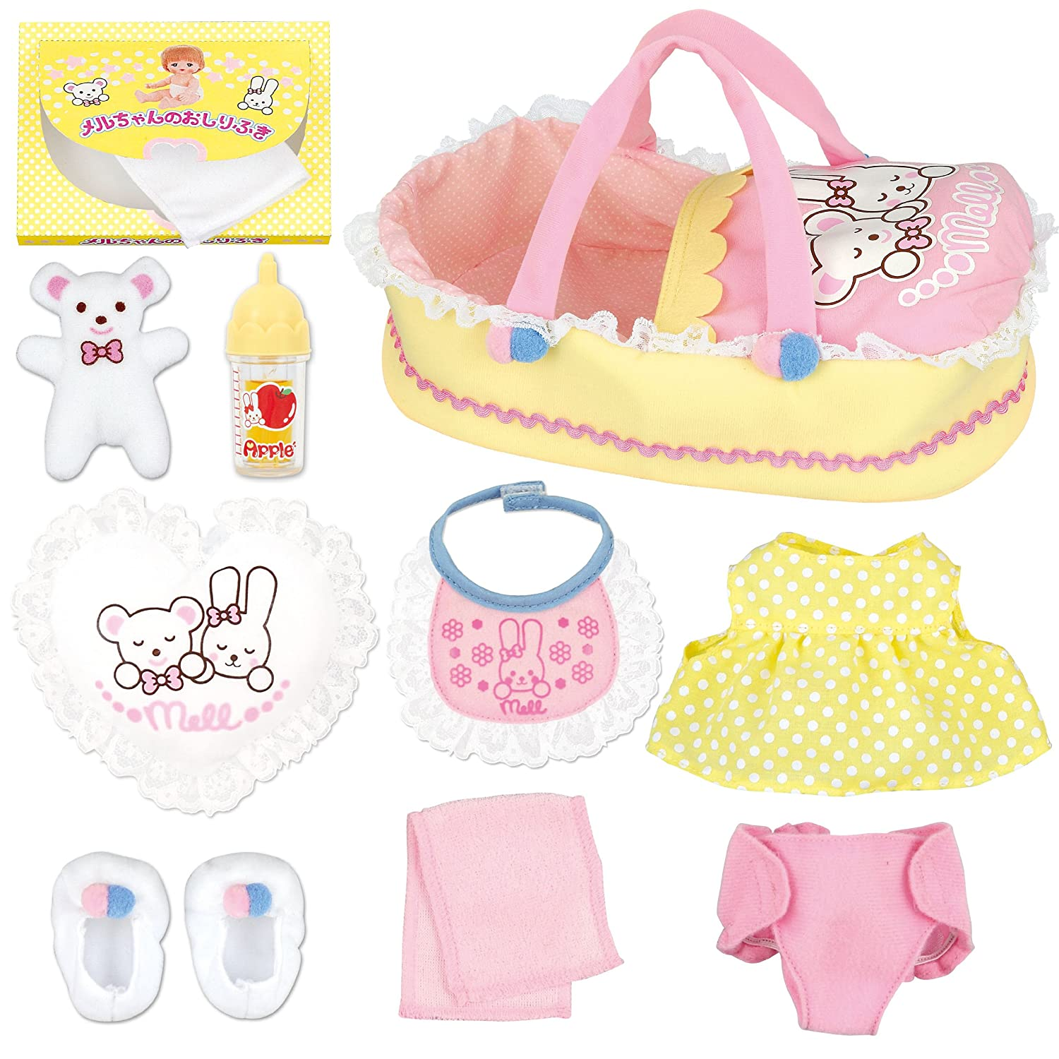 Set of 10 care of Mel Chan care parts (japan import)