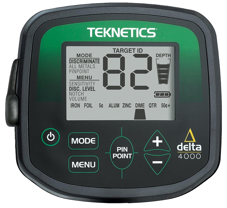 Teknetics 4000 Delta - Detector de metales: Amazon.es: Industria, empresas y ciencia