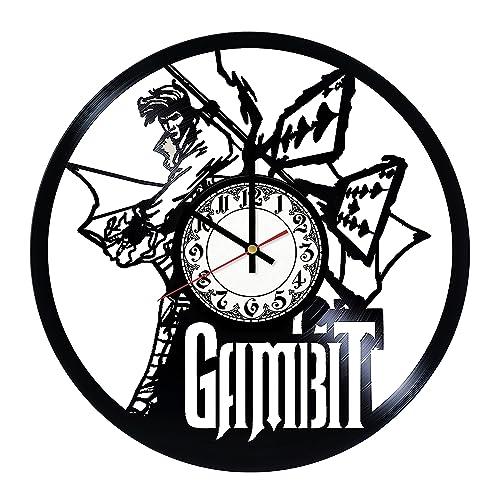 Amazon.com: Gambit Superhero Design Vinyl Record Wall Clock - Home ...