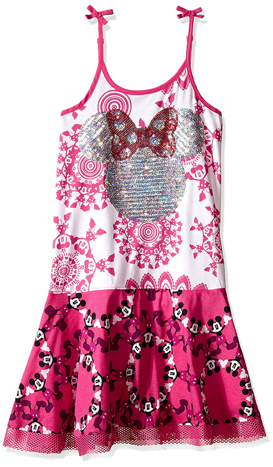 10 ans Desigual Robe Fille Icourire Rose 61v3db2