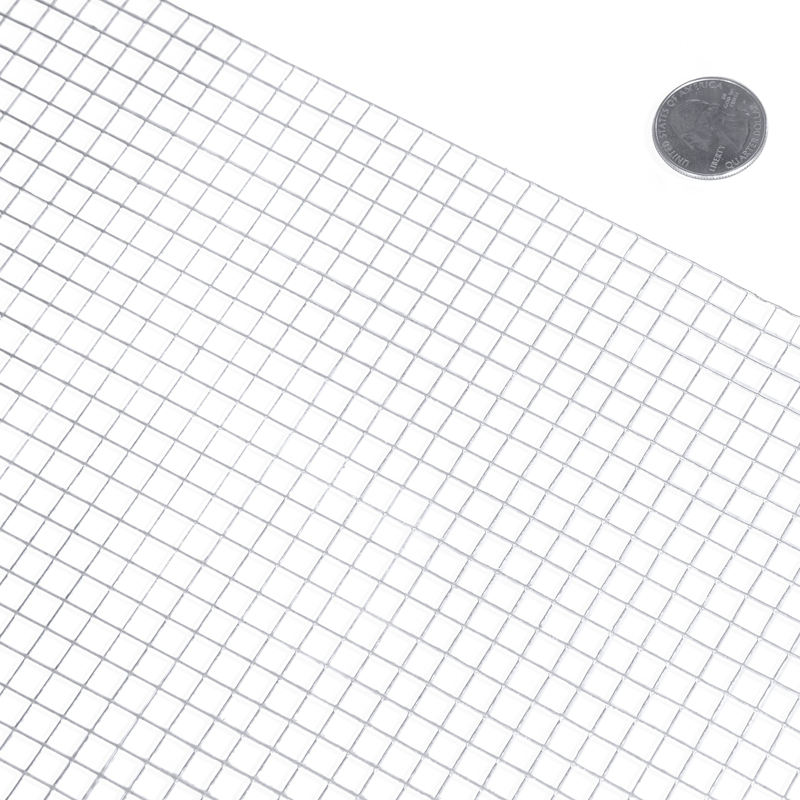 Fencer Wire 23 Gauge Galvanized Hardware Cloth with Mesh Size 1/4'' x 1/4'' (2 ft. x 10 ft.)