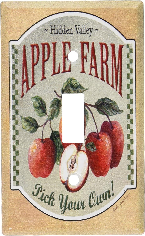 Art Plates - Apple Farm Switch Plate - Single Toggle