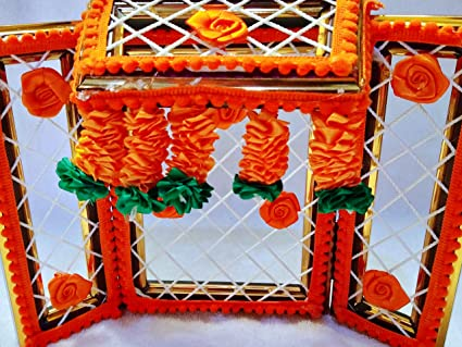 Amazon com: Brij Sugandha Laddu Gopal Ji Phool Bangla