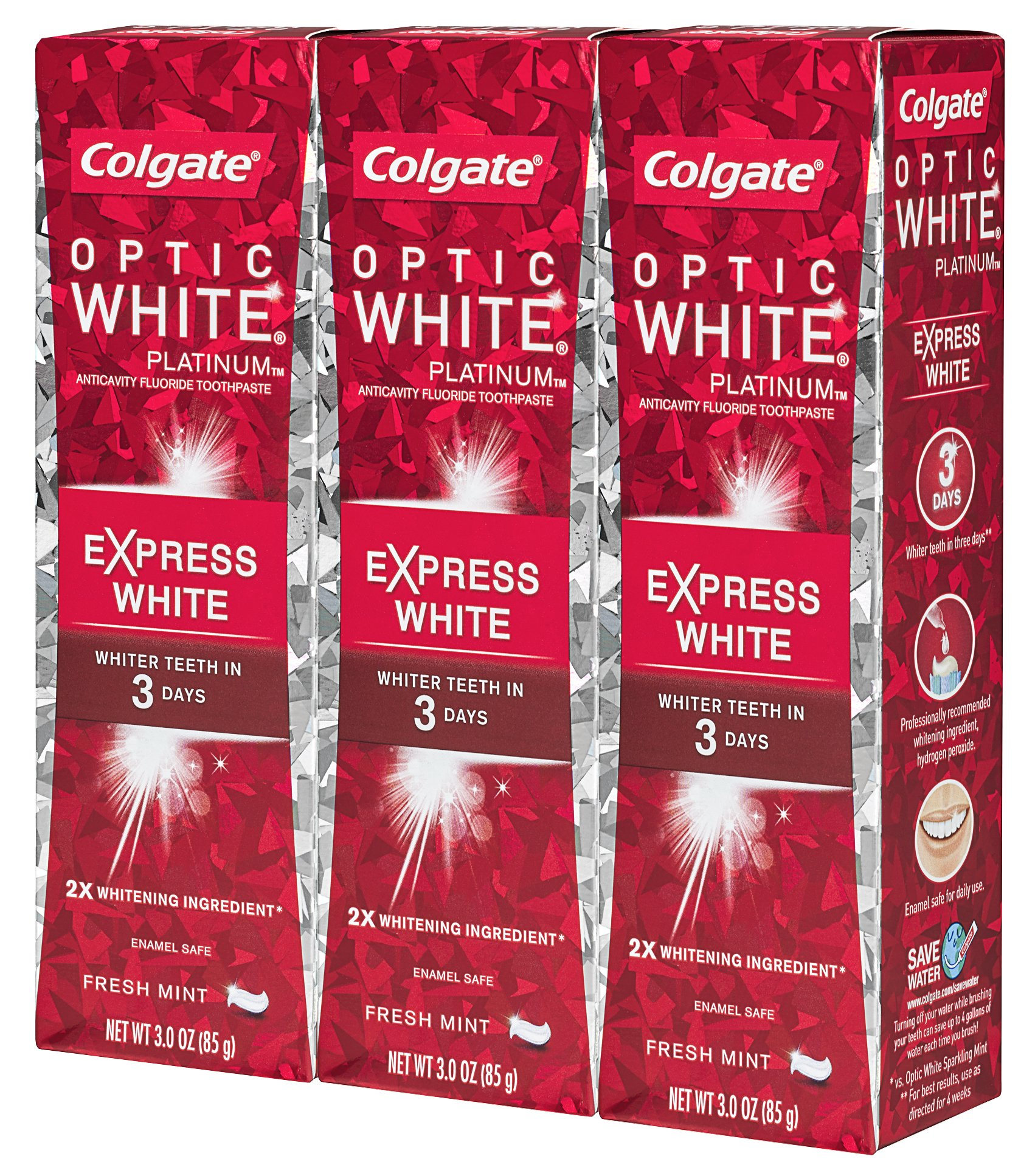Colgate Optic White Express White Whitening Toothpaste - 3 ounce (3 Pack) by Colgate (Image #12)