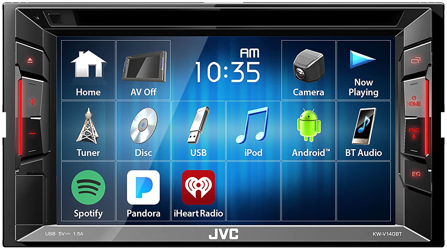 JVC Double Din Car Stereo}