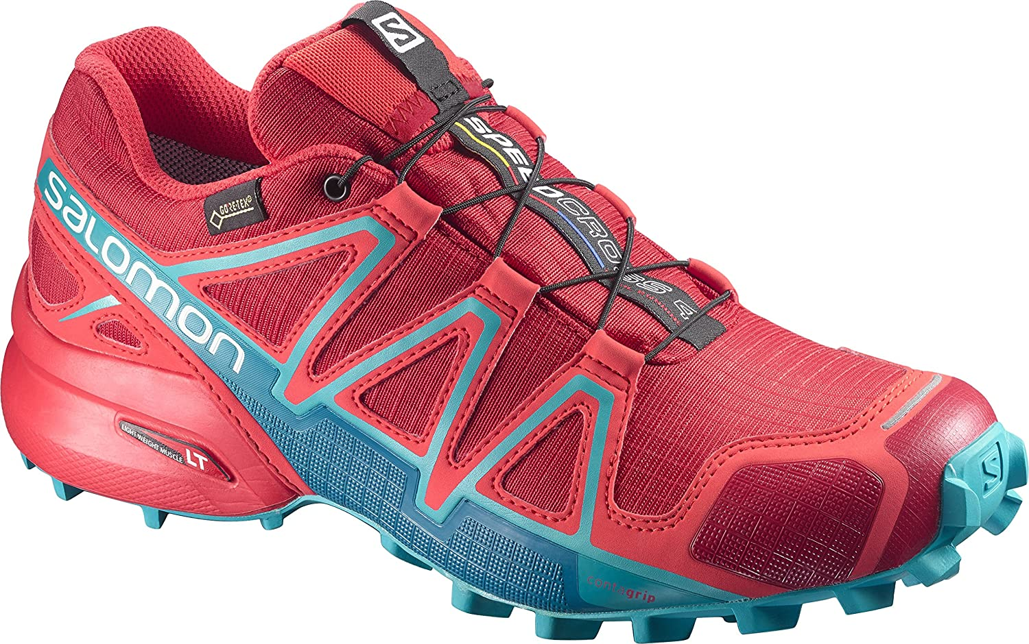 Salomon Women's Speedcross 4 GTX W Trail Running Shoe B01N5QVLCU 12 B(M) US|Barbados Cherry