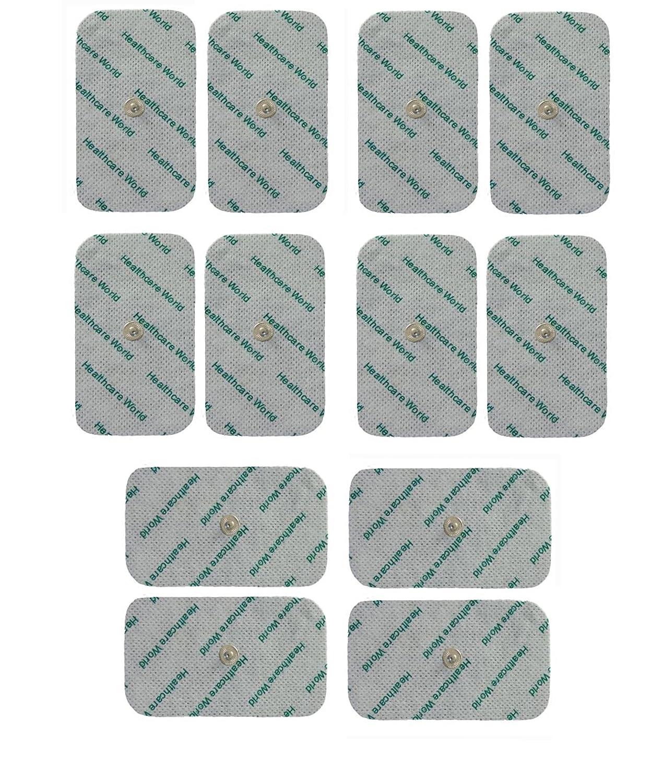 Electrodos Para TENS EMS Electroterapia Grande TENS Electrodos x 12 Para Beurer Sanitas EM40 EM41 EM80: Amazon.es: Deportes y aire libre