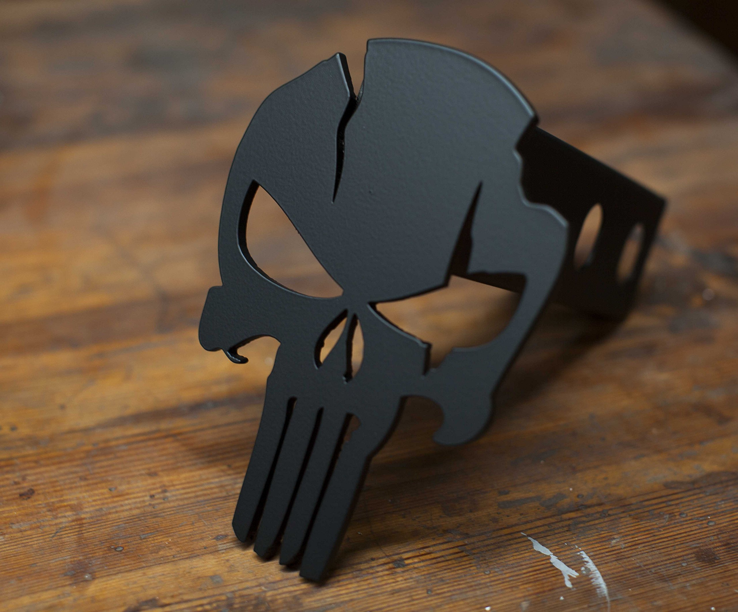 Punisher Warrior - Trailer Hitch Cover by Kempter Kustoms