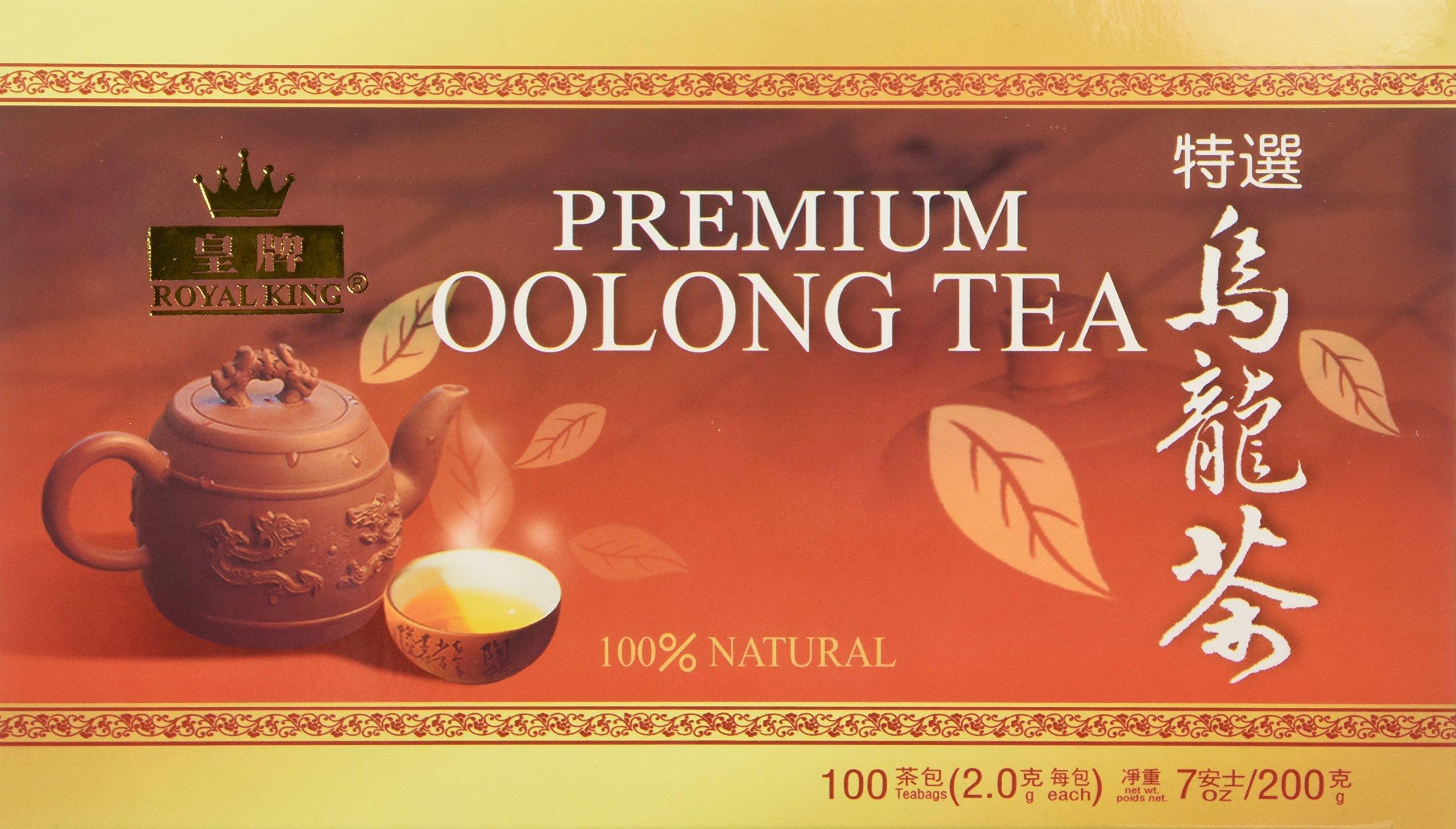 Royal King Premium Oolong Tea 100 Tea Bags