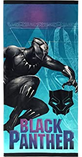 Character Beach Towel Marvel TChalla Wakanda Throne Black Panther Beach Towel 58 X 28 Inches Meet Beach Towel Summer Beach /& Pool Towel 100/% Soft Cotton Fabric Black Panther