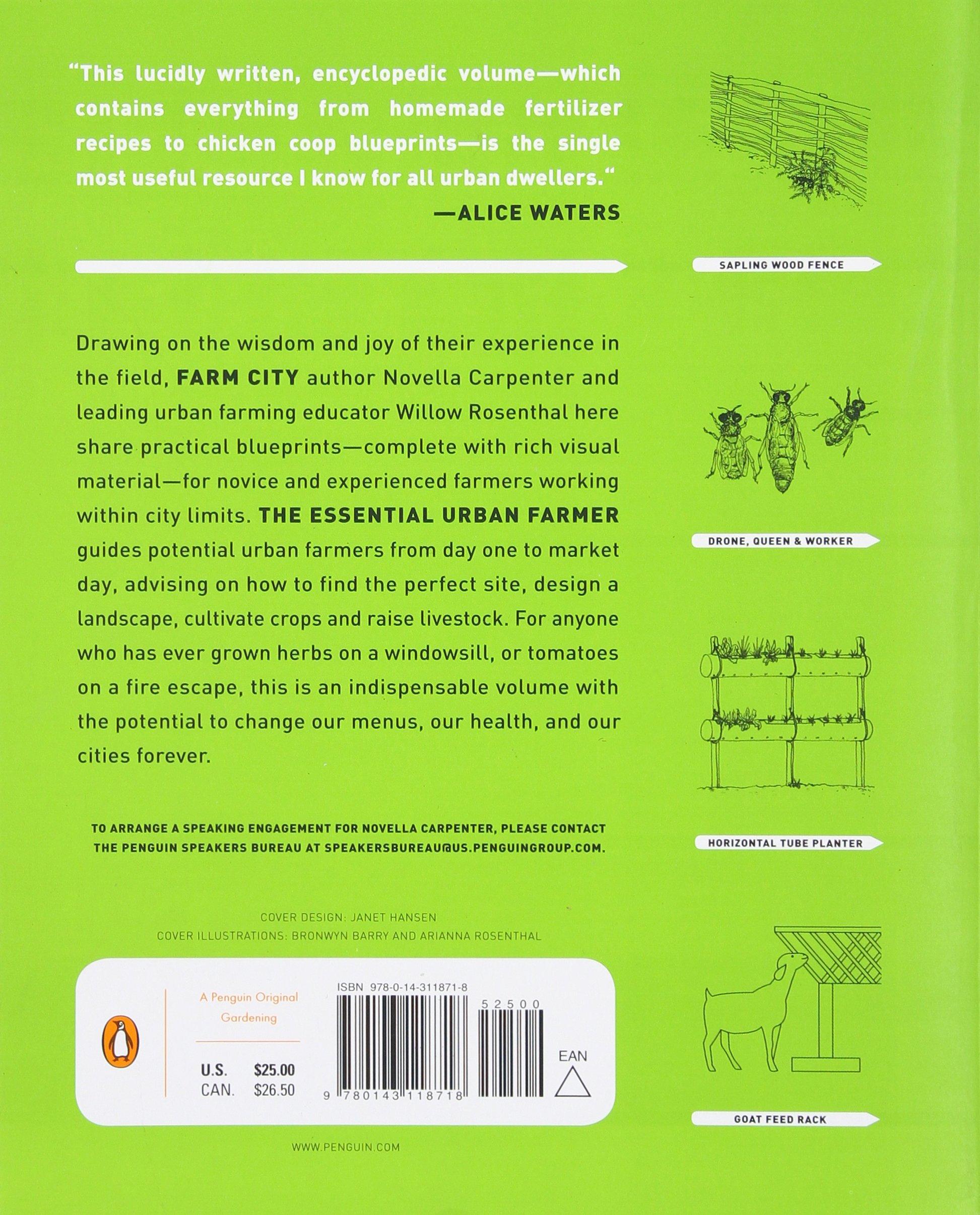 The Essential Urban Farmer: Amazon.es: Carpenter, Novella ...