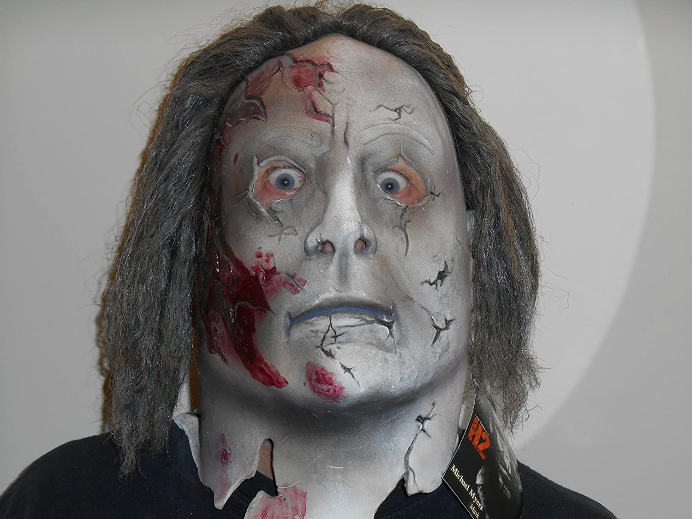 Halloween 2 Rob Zombie Mask.Michael Myer Halloween 2 Mask
