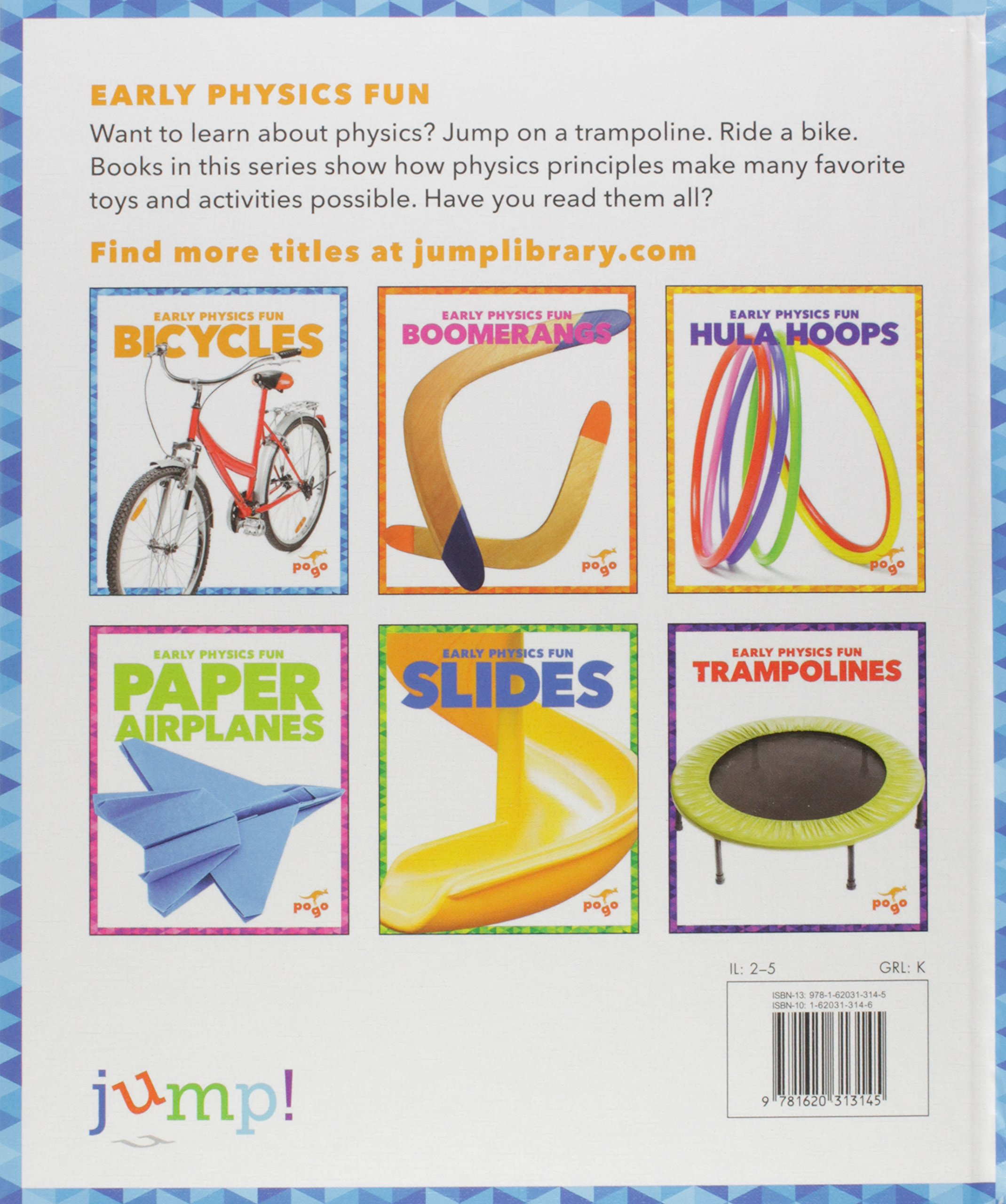 Bicycles (Pogo: Early Physics Fun) by Jump! (Image #1)