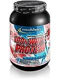 IronMaxx 100% Whey Protein – Proteinpulver auf Wasserbasis für Fitness-Shake – Eiweißpulver mit Erdbeer Geschmack – 1 x 900 g Dose