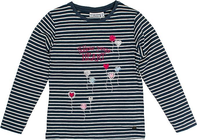 Salt /& Pepper Girls Amazing Hunde Longsleeve T-Shirt