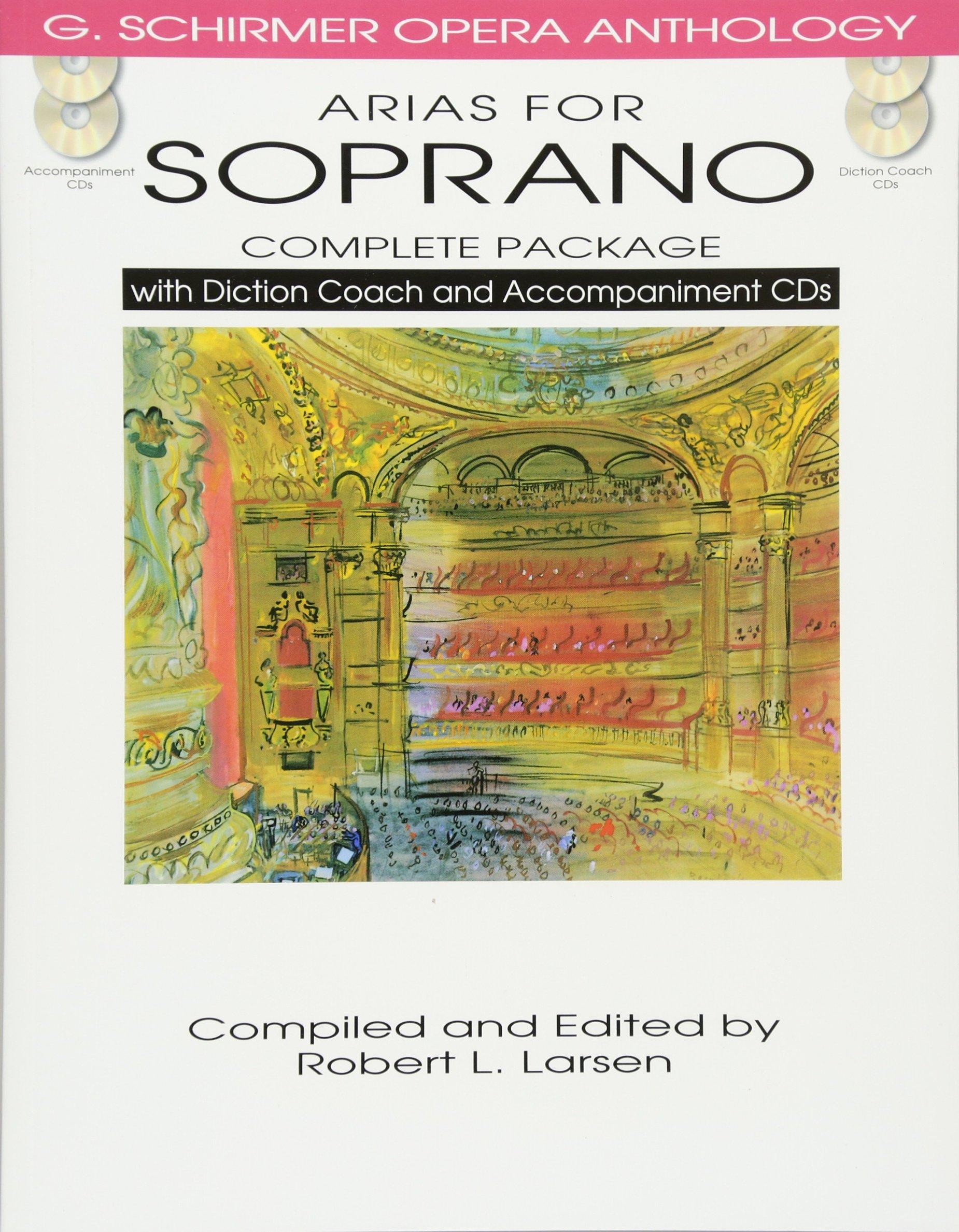 Arias Soprano Complete Accompaniment Anthology product image
