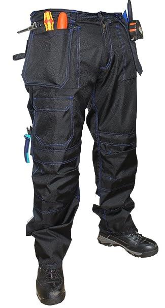 Pharos Industrial - Pantaloni - Uomo Nero 28W x 31L  Amazon.it   Abbigliamento f462898ddbc