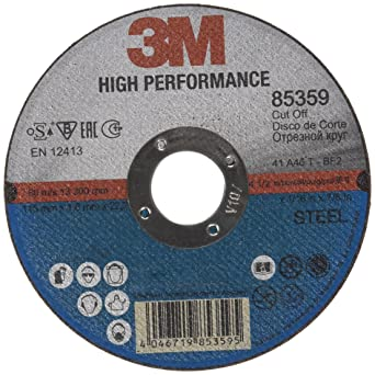 Steel Lot de 25 3/M 85359/Disque /à tron/çonner haute performance Type 41 22,23/mm 115/mm 1,6/mm