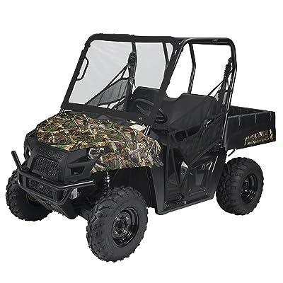 Classic Accessories QuadGear Black UTV Front Windshield: Automotive