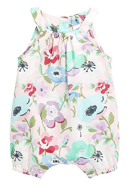 next Bebé-Niñas Pelele con Estampado Floral (0 Meses - 2 Años) Multicolor 1.5-2 años: Amazon.es: Ropa y accesorios