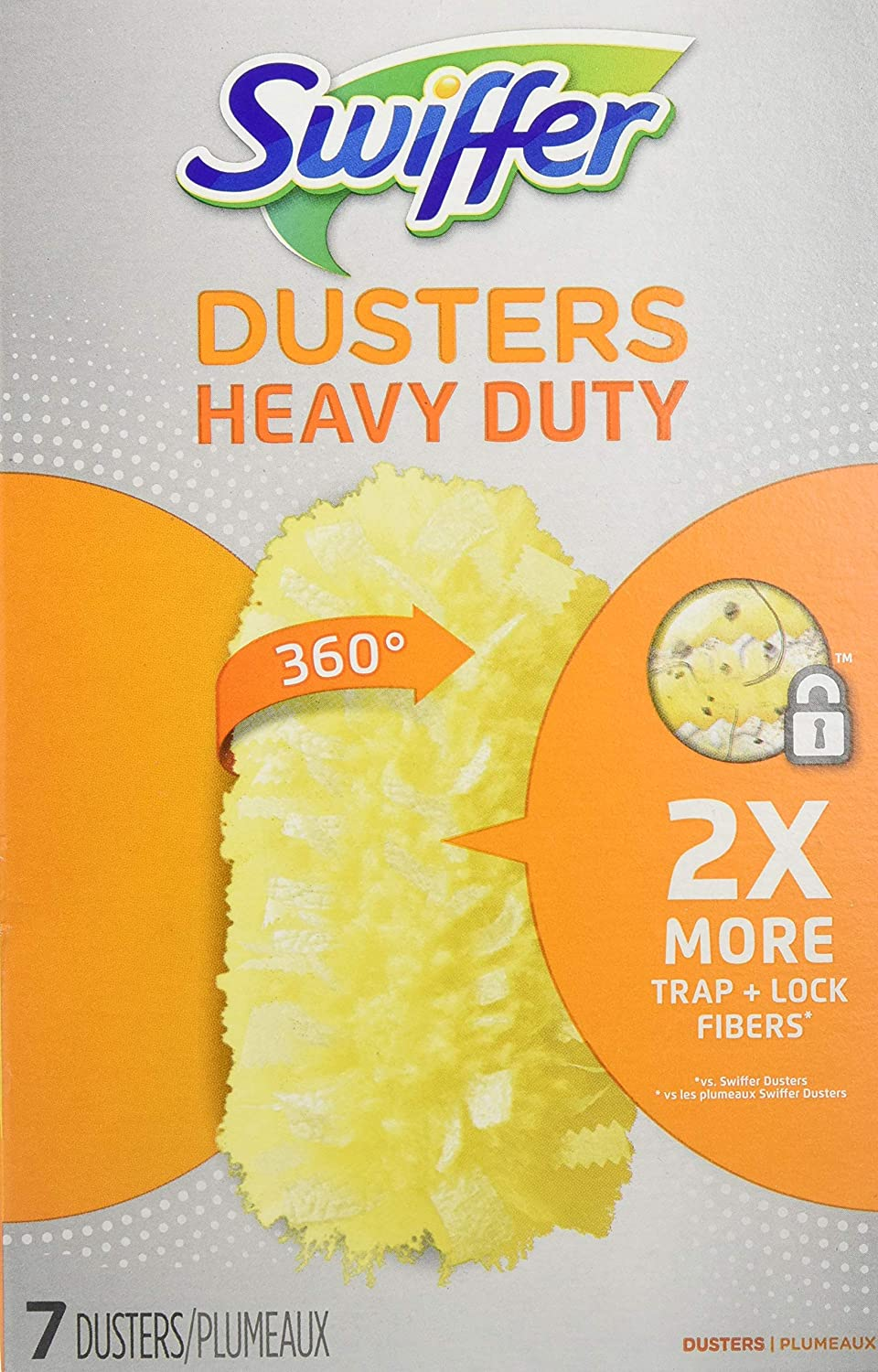 Swiffer 360 Dusters Refills Unscented 7 Ct - 3 Pack