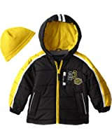 London Fog Boys Sport Puffer Coat with Hood