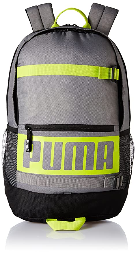 f4e01c9f90 Puma Steel Grey Laptop Backpack (7470606)  Amazon.in  Bags