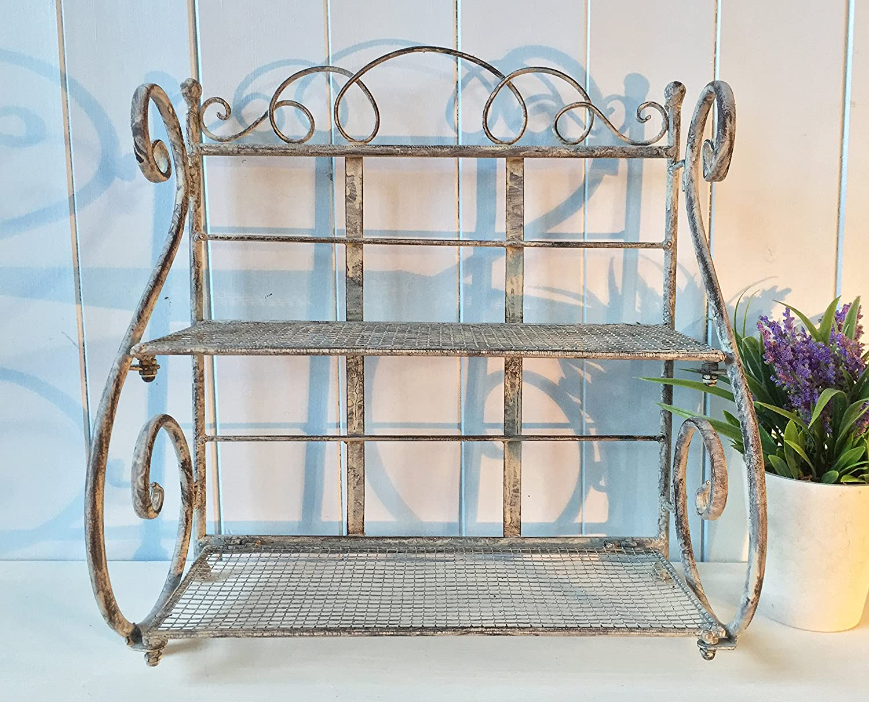 Vintage Stil Metall Küche Regal Rack: Amazon.de: Küche & Haushalt