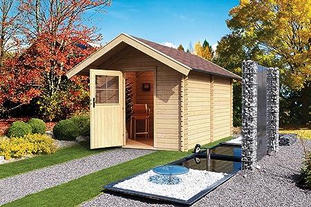 Well Solutionsluxus Aussen Sauna Gartensauna Saunahaus 3 Saunakabine