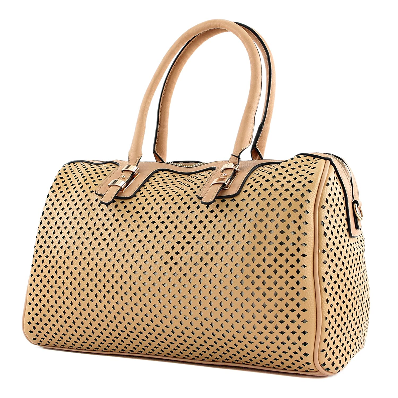 Damentasche Handtasche Tasche Tragetasche Damen Lederimitat Kunstleder LK138015