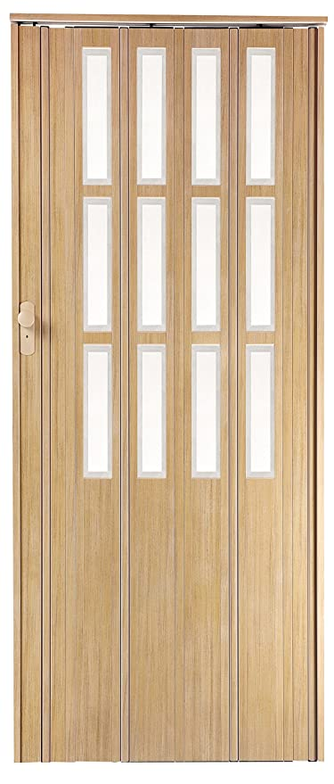 High Quality Concertina Folding Door Series 13 Ash 10mm thick double ...