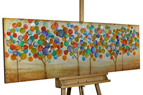 Mano dipinta arte loft stampa su buon umore della natura in 150 x