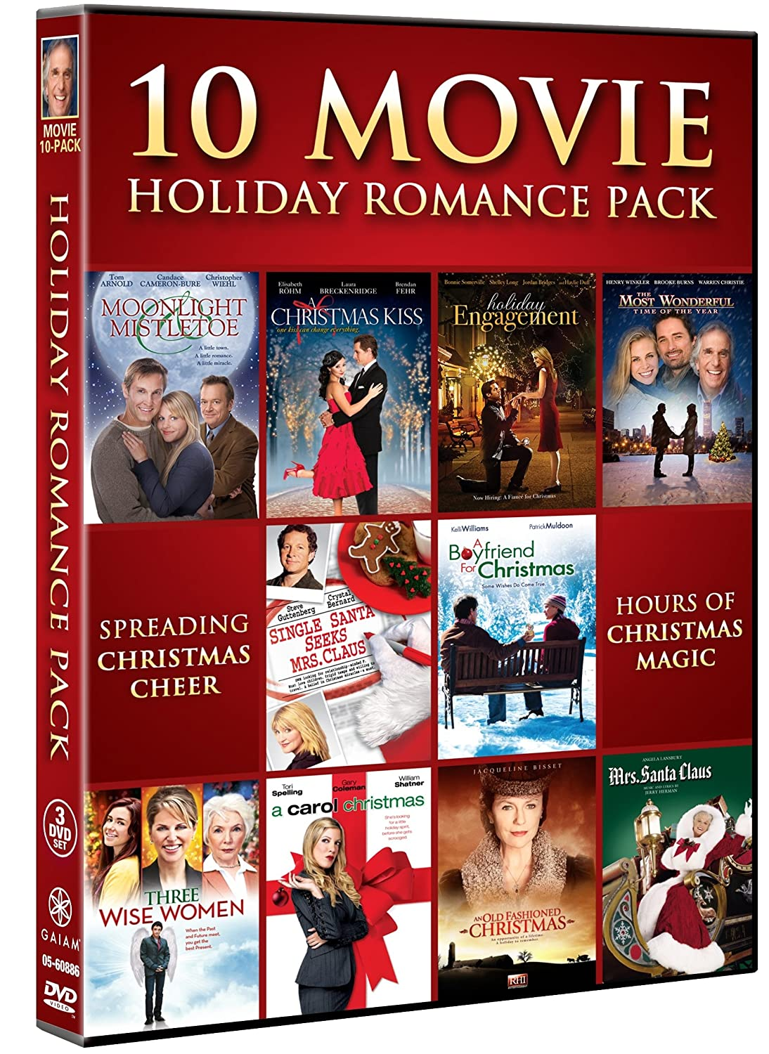 amazoncom holiday romance collection movie 10 pack various movies tv - Country Christmas Movie