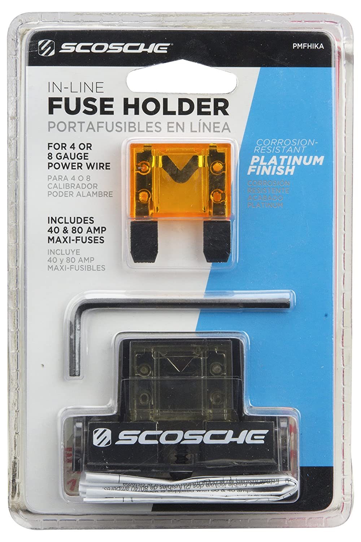Scosche Pmfhika P7 Maxi Fuse Holder Car Electronics 80 Boat Box