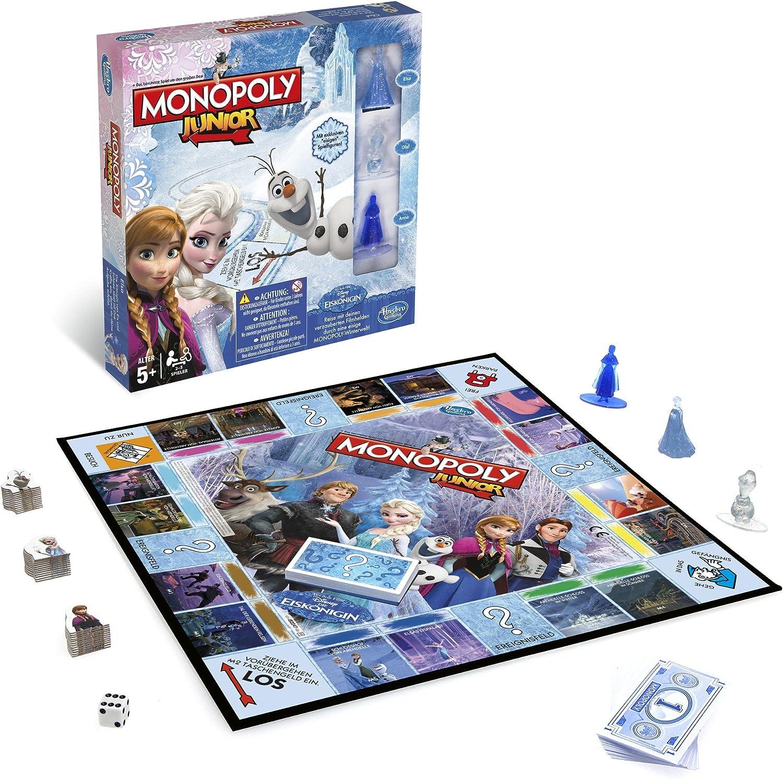 Hasbro Monopoly - Juego de Mesa Junior, con diseño Frozen (versión en alemán): Amazon.es: Juguetes y juegos