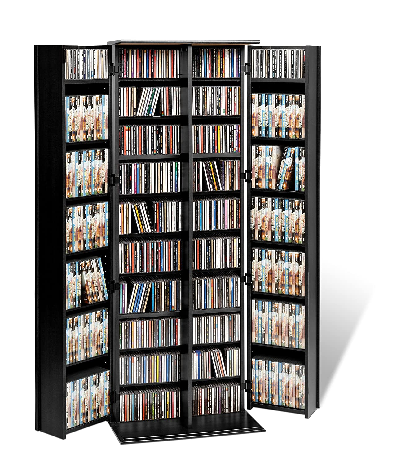 Amazon Prepac Grande Locking Media Storage Cabinet With Shaker
