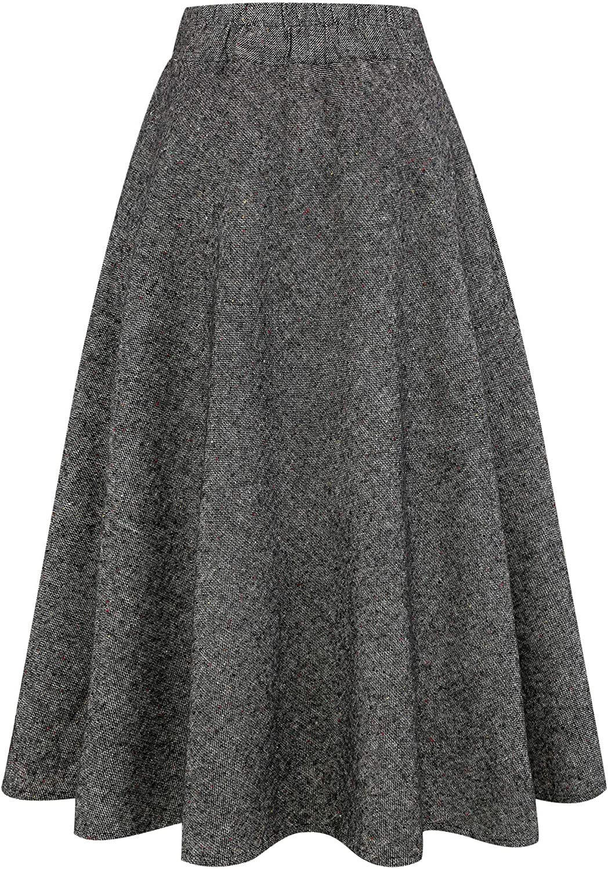 Denim maxi skirt Plaid skirt Circle skirt Boho skirt Skater skirt Cotton skirt women Wrap skirt Detachable skirt High waist skirt Maxi skirt