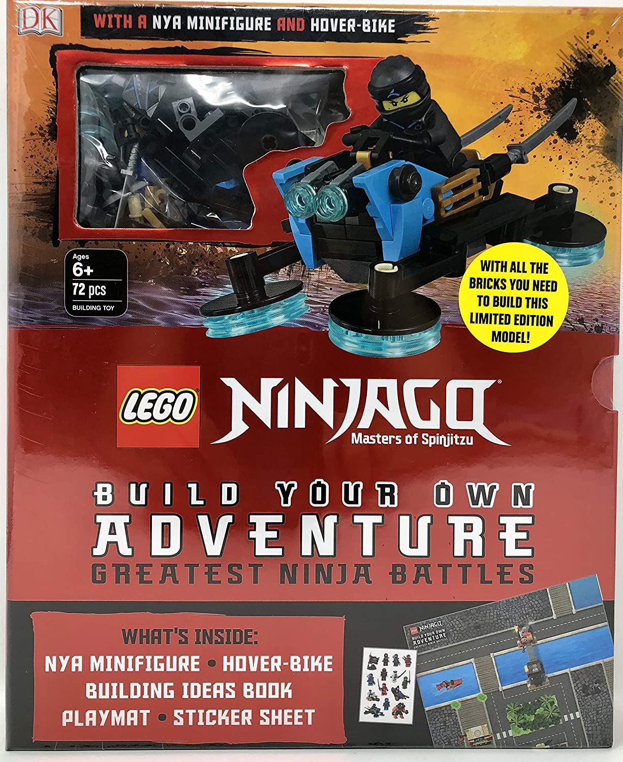 LEGO Build Your Own Adventure Box Set - (Insert Style) Ninjago