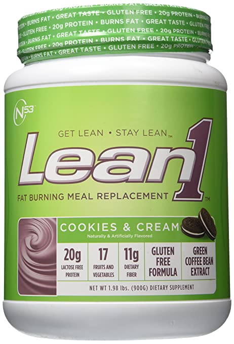 Product thumbnail for Nutrition 53 Lean 1 Cookies and Cream