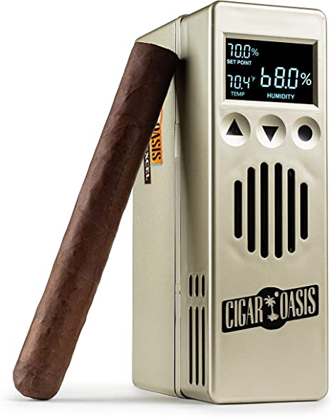 Cigar Oasis Excel 3.0 Electronic Humidifier for 1 4 Cubic ft. (75 300 Cigar Count) Humidors </div>             </div>   </div>       </div>     <div class=