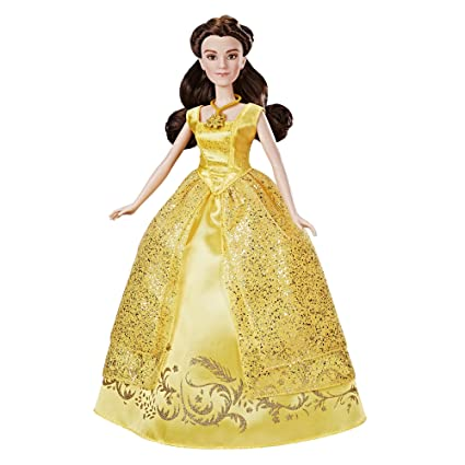 2124ab060b7 Amazon.com  Disney Beauty and the Beast Enchanting Melodies Belle  Hasbro   Toys   Games