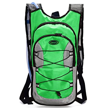 b6f5054657 Juboury Hydration Backpack--Hydration Rucksack Bag Includes Free 2L Water  Bladder for Running