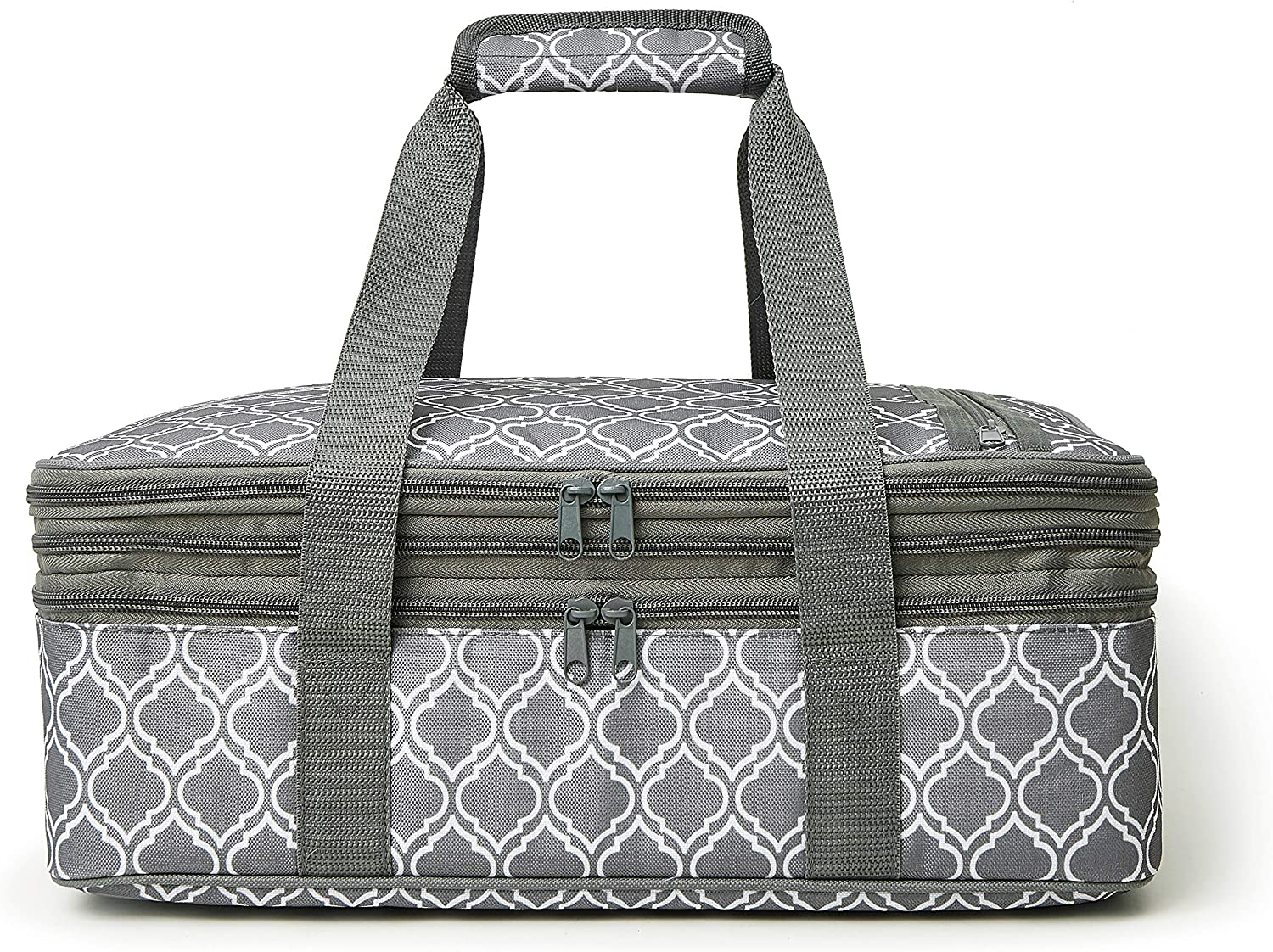 Insulated Casserole Carry Bag - Decker Casserole Carrier Tote Food Bag Potluck Parties,Picnic,Cookouts,Traveling,Beach