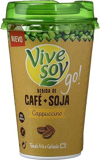 Vivesoy Bebida de Café y Soja - Paquete de 10 x 200 ml - Total ...