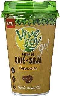 Vivesoy Bebida de Café y Soja - Paquete de 10 x 200 ml - Total: